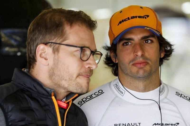 Carlos Sainz: Andreas Seidl wird bei McLaren noch Zeit brauchen