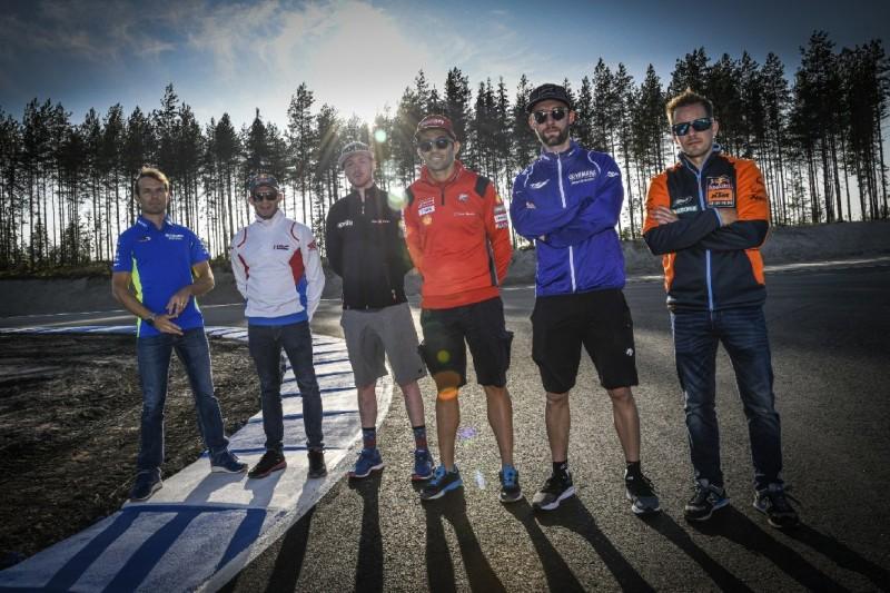 MotoGP-Test in Finnland: KymiRing eingeweiht, Bradl mit erstem Sturz