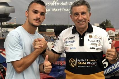 Aufstieg in die Moto2: Aron Canet fährt 2020 für Angel-Nieto-Team