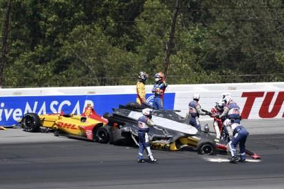 Pocono-Crash: Takuma Sato wehrt sich gegen Anschuldigungen