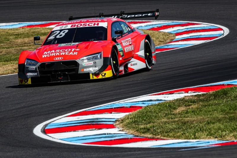 DTM-Training Lausitzring: BMW trotz Siegzwang langsamer als Audi
