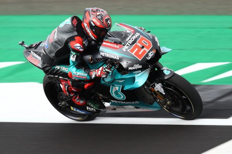 MotoGP Silverstone 2019: Quartararo im FT3 knapp vor Rossi Schnellster