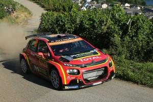 Zwischenfall bei Rallye Deutschland: Mads Östberg überfährt fast Zuschauer