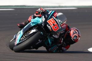 MotoGP Silverstone 2019: Quartararo vor Marquez Schnellster im Warm-up