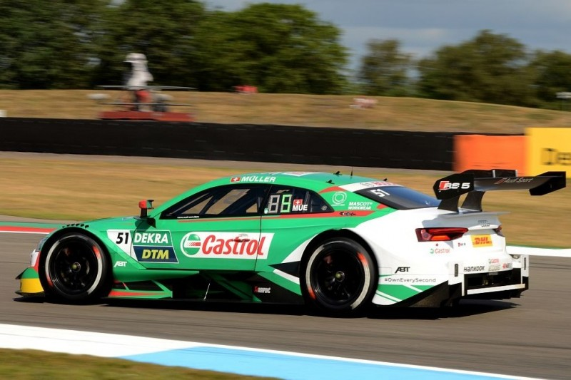DTM-Qualifying Lausitzring 2: Müller schlägt Rast bei Audi-Dominanz
