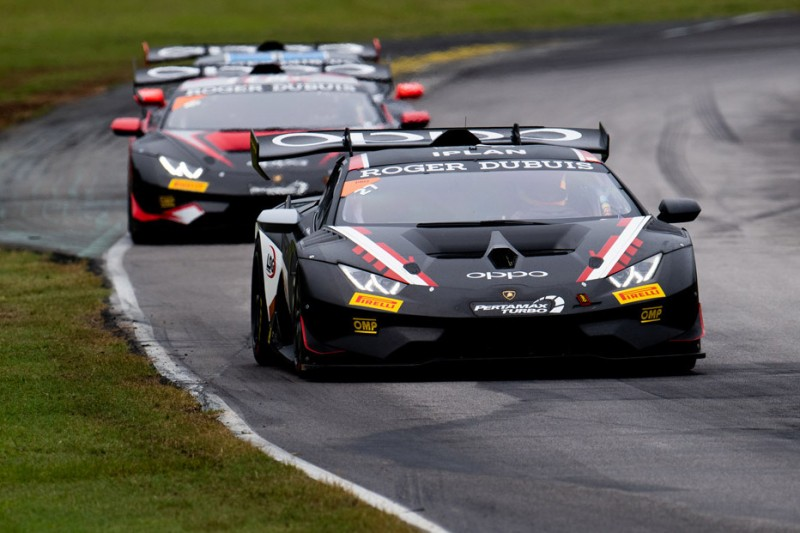 Lamborghini-Trofeo Virginia: Erster Saisonsieg für Ruberti/Sbirrazzuoli