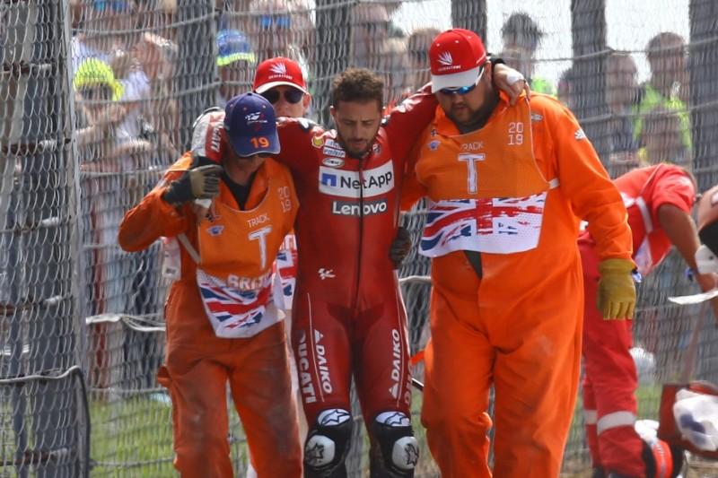 Nach Silverstone-Crash: Wie es Andrea Dovizioso jetzt geht