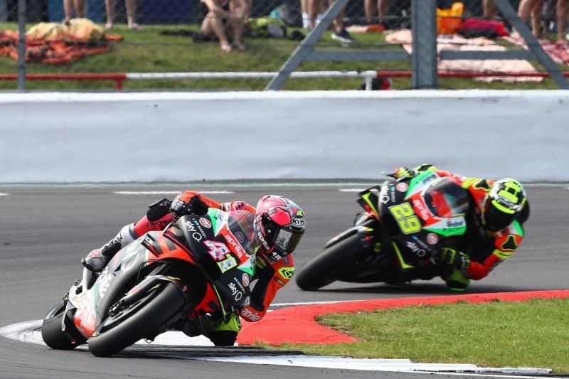 Aprilia: Iannone erbt nach Espargaro-Defekt Platz 10 in Silverstone