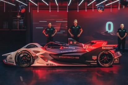Formel-E-Auto vorgestellt: Präsentation des Porsche 99X Electric