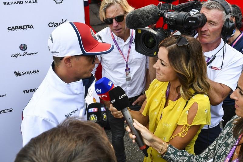 """""""Trinken ist sicherer"""": Räikkönen leicht verletzt, kann aber wohl fahren"""