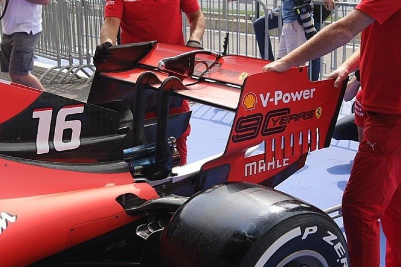 Formel-1-Technik Spa: Teams setzen auf Top-Speed und wenig Abtrieb