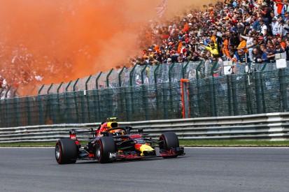 """Verstappens orange Party in Spa: """"Positive Motivation"""" für das Rennen"""