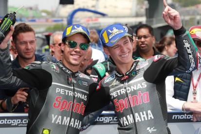 MotoGP-Test in Misano: Petronas-Piloten vor Marquez, Rossi Fünfter