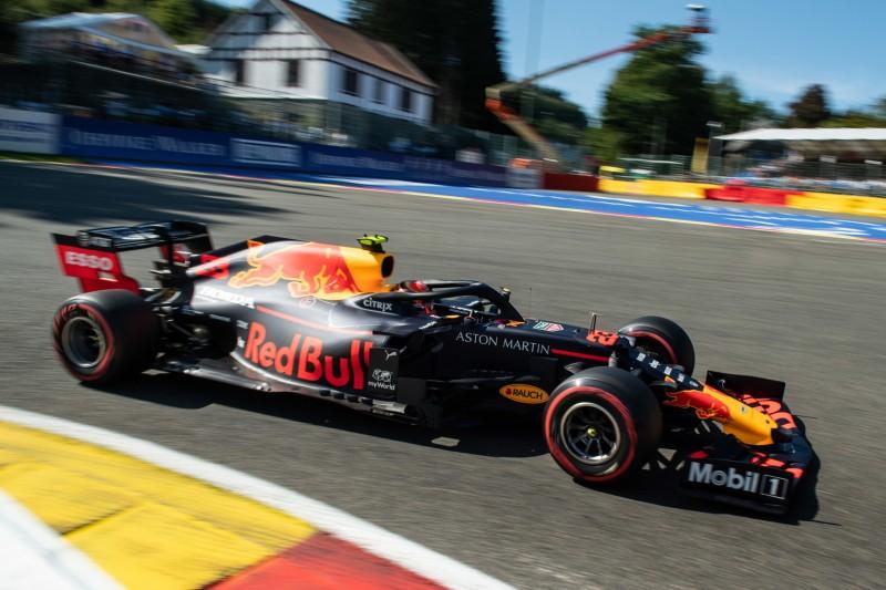 Red Bull im Schongang: Verstappen fehlt Power, Albon die Erfahrung