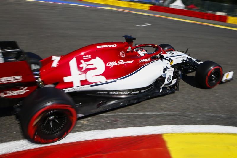 Haas & Alfa Romeo mit neuem Ferrari-Motor - Räikkönens Bein hält