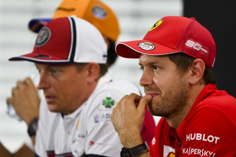 """Sebastian Vettel: """"Bin nicht so hübsch wie Kimi"""""""
