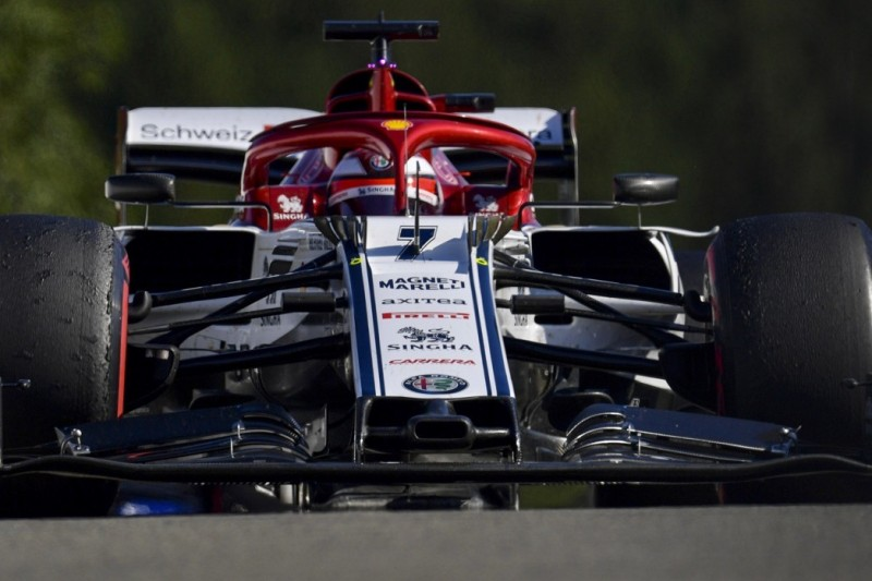 "Kimi Räikkönen trotz Startplatz sechs in Spa ""ein wenig enttäuscht"""