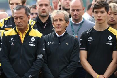 Alain Prost verrät: Huberts Programm für 2020 wurde in Spa fixiert