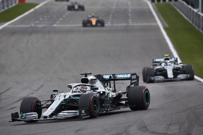 Mercedes rechnet in Monza mit Windschatten-Tricks