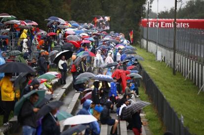 Formel-1-Wetter Monza: Regen wohl erst nach dem Qualifying