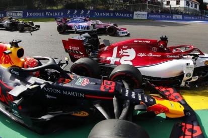 Rennunfall: Verstappen und Räikkönen nach Spa-Crash nicht sauer