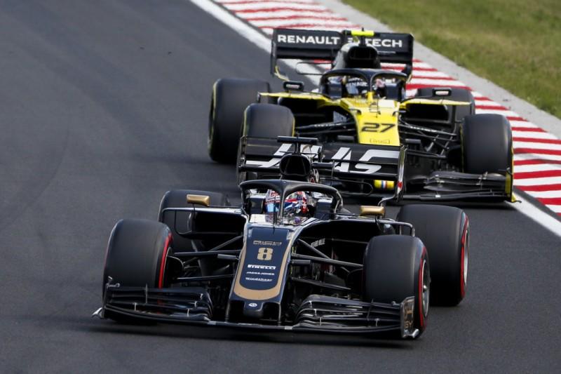 Haas: Entscheidung zwischen Hülkenberg und Grosjean noch nicht gefallen