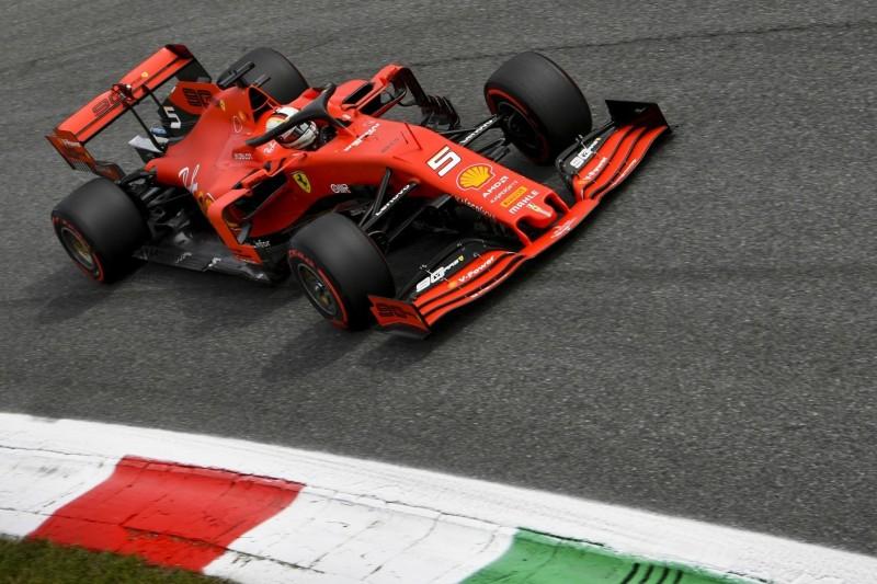 Erklärt: Warum Vettel im Monza-Qualifying straffrei blieb