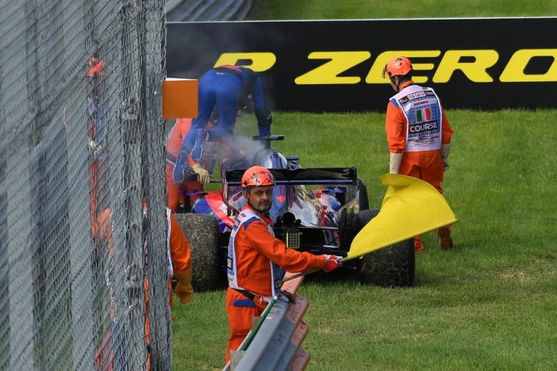 Öl-Leck und Stroll-Vorfahrt: Toro Rosso hadert mit verpassten Punkten