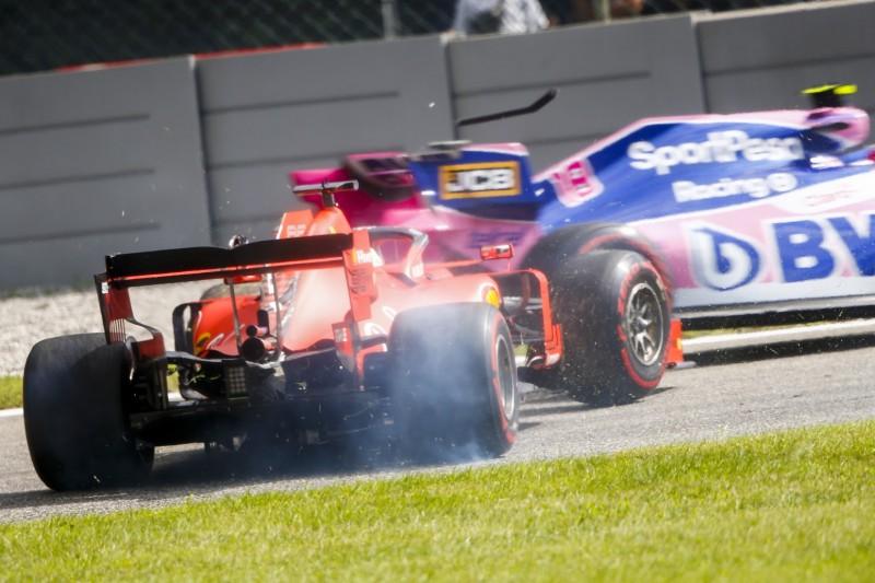 Vettel-Aussetzer in Monza: Nur eine Stufe an einer Disqualifikation vorbei