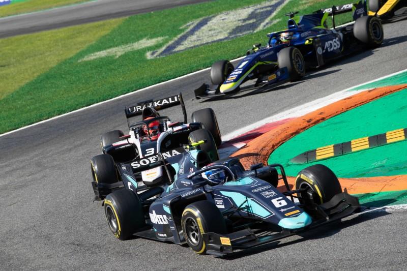 Formel 2 in Monza: Latifi schmeißt Chance im Titelkampf weg