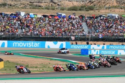 Wegen Formel 1: MotoGP-Zeitplan für Rennsonntag in Aragon geändert