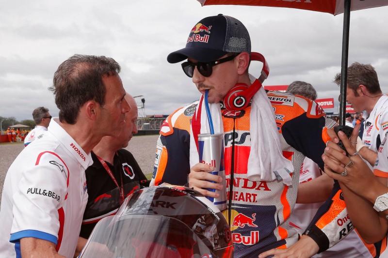 """Honda: """"Lorenzos Problem ist nicht die Technik, sondern Mut und Wille"""""""