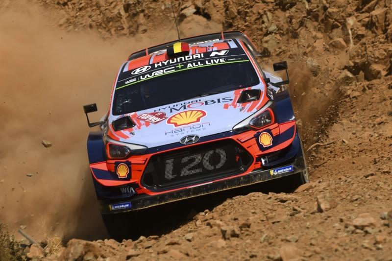 WRC Rallye Türkei 2019: Hyundai-Duo zeitgleich an der Spitze