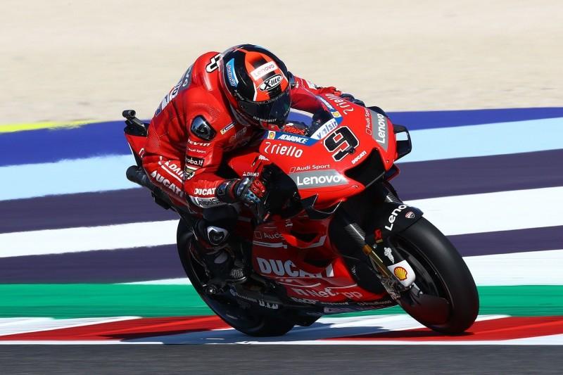 Geringer Grip in Misano beraubt Ducati seiner größten Stärken