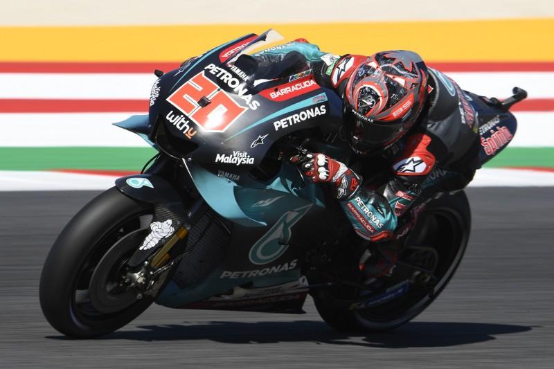 MotoGP Misano 2019: Quartararo im FT3 vorn, bekannte Namen im Q1