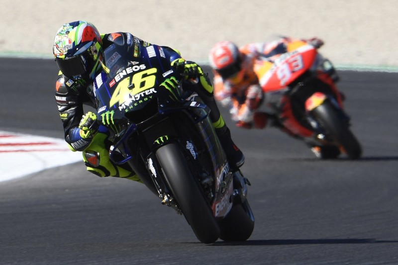 """Marquez zu Rossi-Manöver: """"Plötzlich etwas Schwarz-Gelbes neben mir"""""""