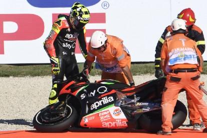 Andrea Iannone: Kein Rennstart in Misano nach drei Trainingsstürzen