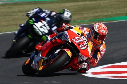 MotoGP Misano 2019: Marquez im Warm-up vor Vinales, Rossi nur Zehnter