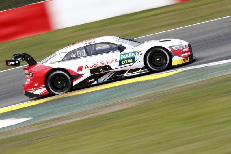 DTM-Qualifying Nürburgring 2: Rast nach Startplatz zwei vor Titelgewinn