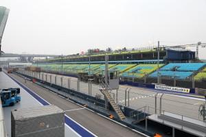 Formel-1-Wetter Singapur: Schlechte Luft sorgt für Probleme