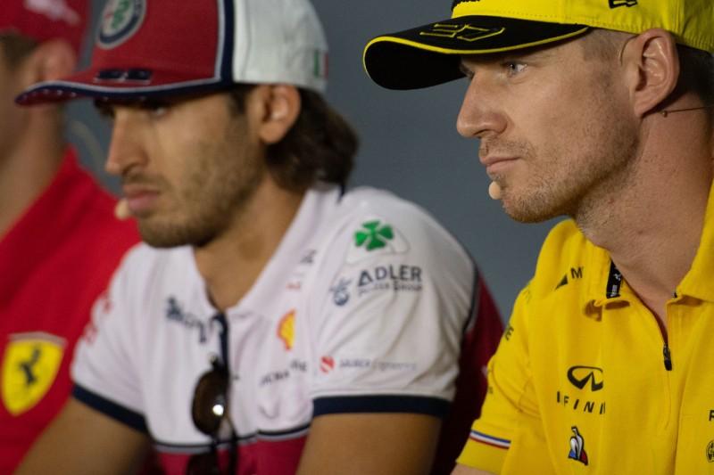 Trotz Hülkenberg: Ferrari will Giovinazzi bei Alfa Romeo halten