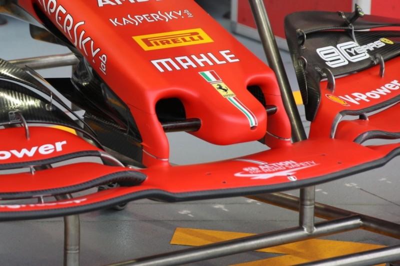 Formel-1-Technik Singapur: Neue Ferrari-Nase für mehr Abtrieb