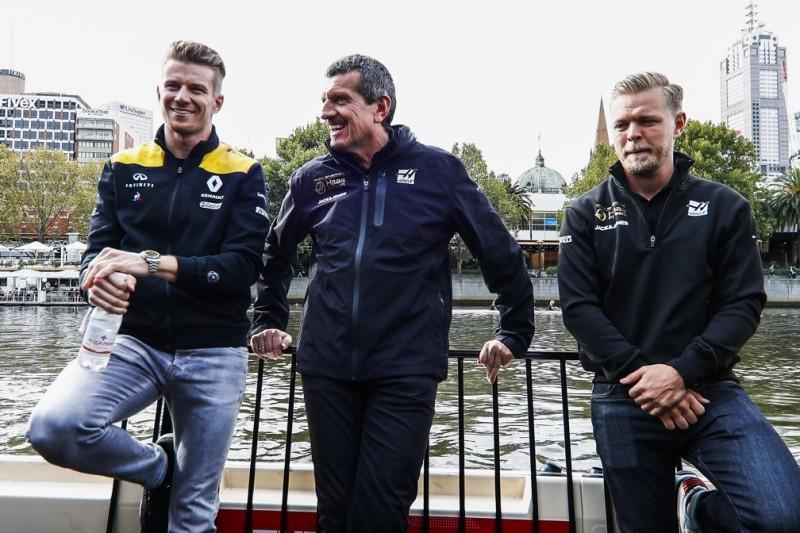 Hülkenberg: Beziehung zu Magnussen spielte keine Rolle für Haas