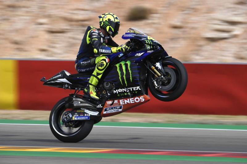 """Yamaha am Aragon-Freitag realistisch: """"Marquez ist eine Sekunde weg"""""""