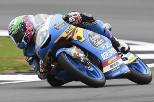Moto3 Aragon 2019: Lopez auf feuchter Strecke mit Bestzeit, Canet in Q1