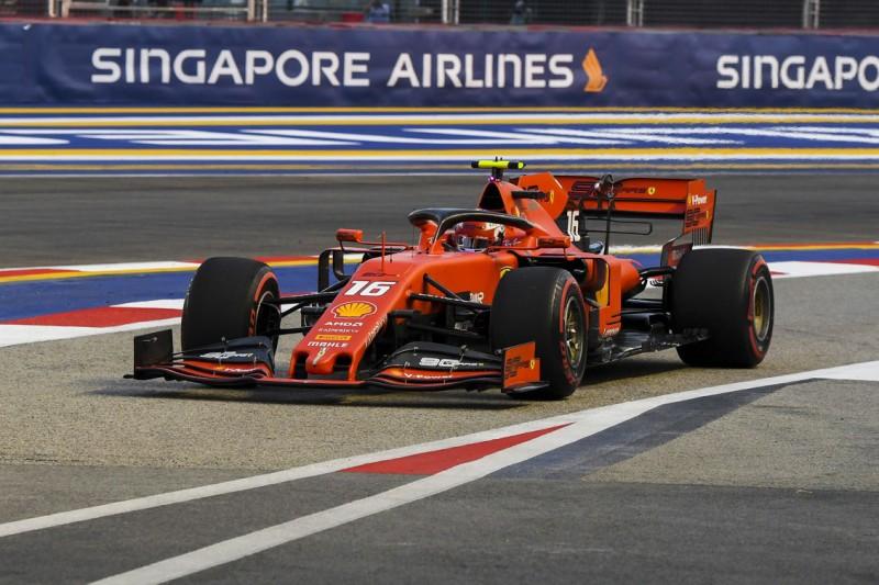 Formel 1 Singapur 2019: Hamilton trotz Ferrari-Bestzeit Favorit