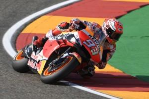 MotoGP Aragon 2019: Neunte Saisonpole für Marquez, Pol Espargaro verletzt