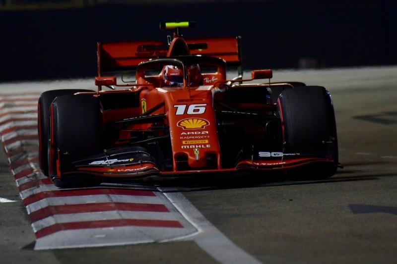 Formel 1 Singapur 2019: Leclerc sichert sich die Pole beim Nachtrennen!