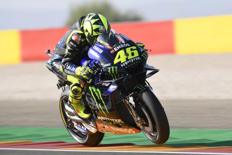 """""""Hatte erwartet, stärker zu sein"""": Rossi ohne Grip in Aragon nur Achter"""
