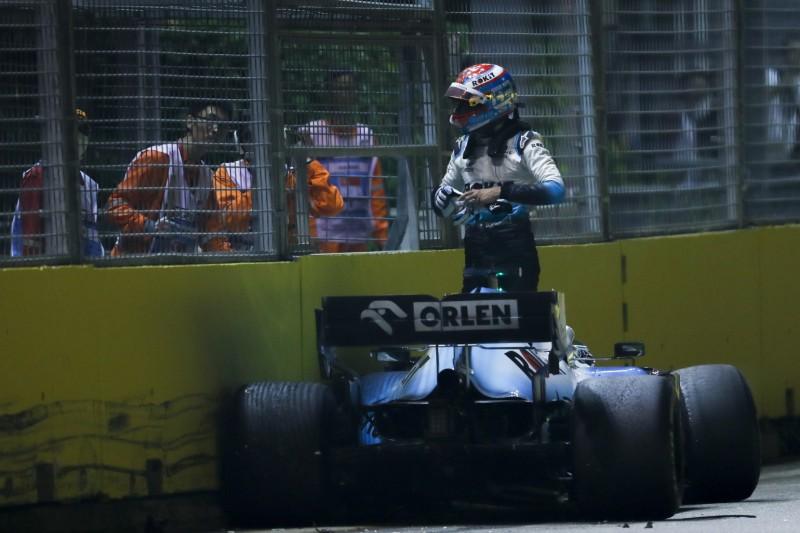 """Russell nach Grosjean-Crash verärgert: """"Was hat er sich dabei gedacht?"""""""